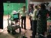 Natasha Kaplinsky On Set 01