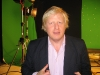 Boris Johnson On Set 02